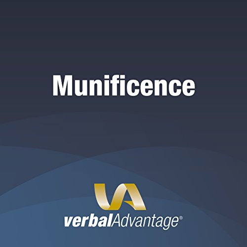 Word of the Day: Munificence cover art