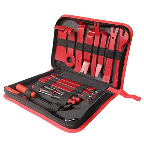 YKWYQ Kettennieter Fahrrad 22pcs Pry Entfernen von Panel-Innentür-Clip Trim Moulding-Dashboard-Tool zum Entfernen Car Repair Tools Kit