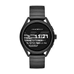 Smartwatches powered with wear OS by Google works with iPhone and Android phones. Smartwatches built with wear OS by Google require a phone running Android OS 6. 0+ (excluding go edition) or iOS 10+. supported features may vary between platforms Go M...