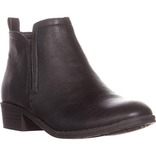American Rag Womens Cadee Round Toe Ankle Fashion Boots, Black, Size 7.0