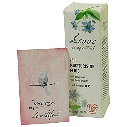 KIVVI - 24h-Fluid Sanfte Pflege für jeden Hauttyp - Wirkt antioxidativ - Mindert Zeichen der Hautalterung