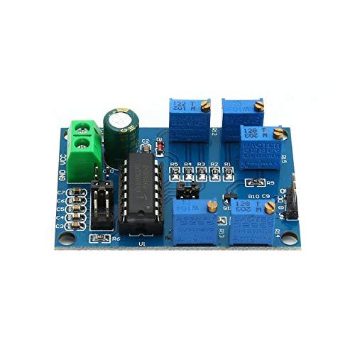 MXECO ICL8038 Signalgenerator Triangular/Rechteck/Sinus-Generator-Modul Medium/Low Frequency 10Hz-450 kHz 12V bis 15V (blau)