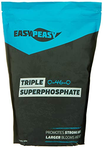 Triple Super Phosphate 0-46-0 Easy Peasy Plants 99% pure (5lb)