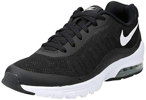 Nike Air MAX Invigor, Zapatillas de Running Hombre, Negro (Black/White), 43 EU