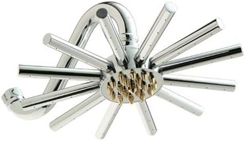Pollenex DP1006 Extended お得セット Cylinder Shower Head Tubes 最安値に挑戦