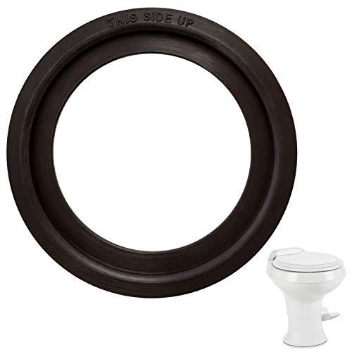 Mission Automotive Dometic -Compatible Flush Ball Seal for 300/310 / 320 RV Toilets - Comparable to Parts Number 385311658 Kit - Ideal Replacement Gasket
