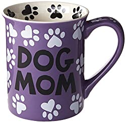 Purple Dog Mom Mug.