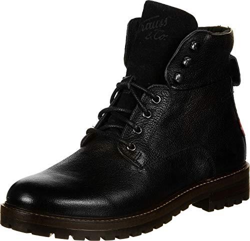 Levi'S Men's Shoes Lloyd - Botas, Botas de Cordones, Cuero Negro 46 EU