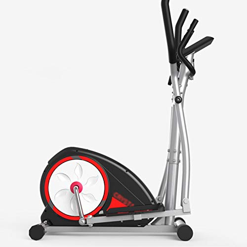 YIDPU Stepper Ellipsentrainer,3-In-1 Elliptische Maschine,Crosstrainer,Exercise Bike-Fitness,Mit 8-Gang-Widerstandseinstellung/LED-Anzeige/Herzfrequenzsensor,Fitness-Gewichtsverlust