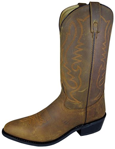 Smoky Mountain Boots Mens+Denver+Leather+Western+Boot