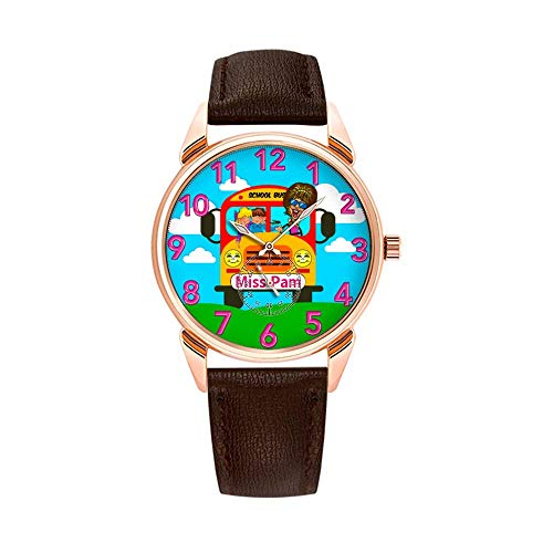 Fashion Waterproof Watch Minimalist Personality Pattern Watch - 041.Best Bus Driver Gifts Personalized Women's Watches