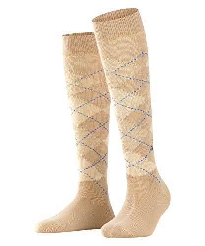 Burlington Damen Whitby W KH Socken, Beige (Country 4381), 36-41 (UK 3.5-7 Ι US 6-9.5)