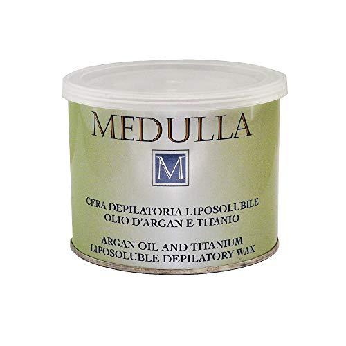 Cera Depilatoria Liposoluble con Aceite de Argan y Titanio para pieles delicadas, Gratis Tiras depilatorias