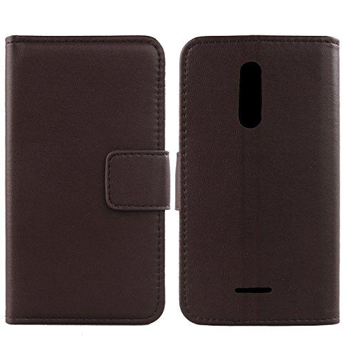 Gukas Design Echt Leder Tasche Für Wiko Upulse 5.5