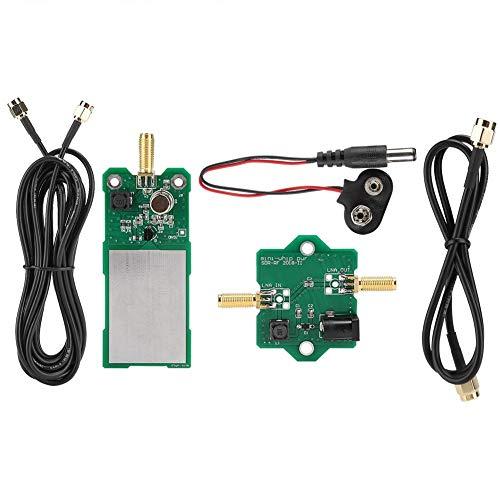 Wendry Antena de Radio, Placa PCB Mini-Whip MF/HF/VHF/SDR Antena Verde Micro Antena de Radio para Radio de Mineral y Radio de transistores