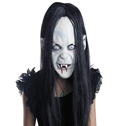 Halloween Muerte Zombie Scary Devil Cosplay Horror Bloody Skeleton Látex Máscaras