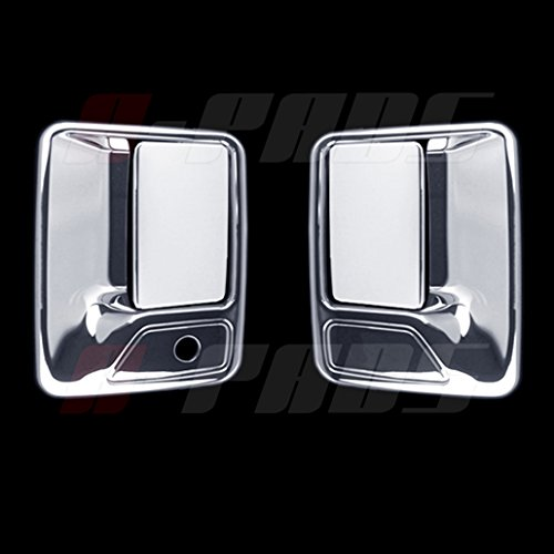 A-PADS Chrome 2 Door Handle Covers For Ford F-250, F-350, F-450 + Super Duty...