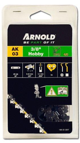 Arnold Sägekette 3/8 Zoll Hobby, 1.3 mm, 55 Treibglieder, 40 cm Schwert 1191-X1-0017