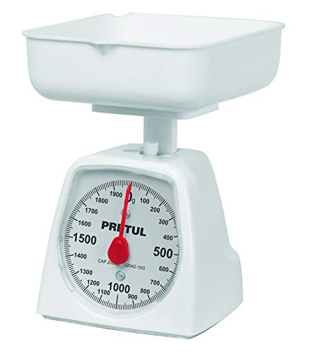 Báscula mecánica Pretul de cocina para 2 kg