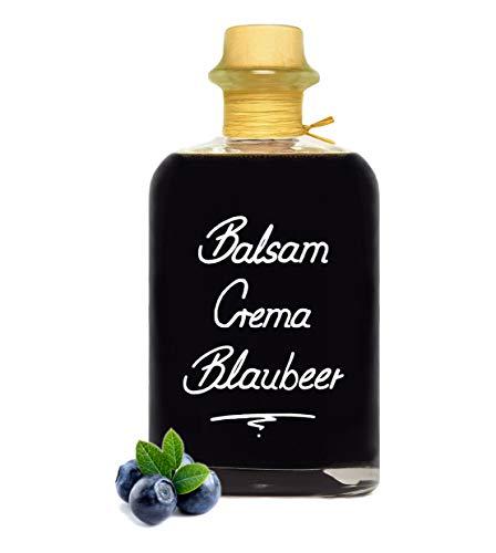 Balsamico Creme Blaubeer 0,7L 3% Säure mit original Crema di Aceto Balsamico di Modena IGP