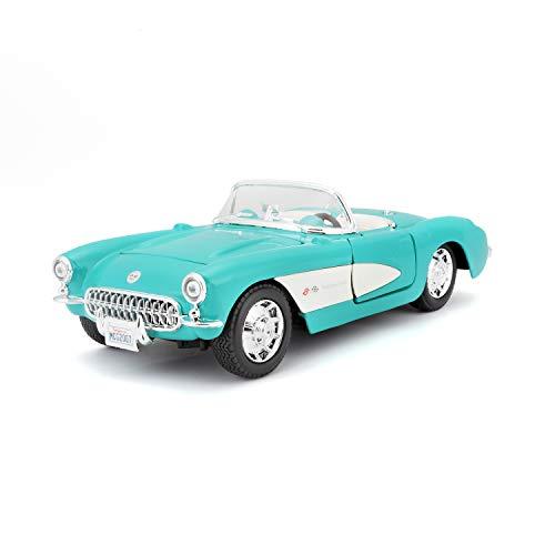 Maisto 2042984 31275 Modellauto 0.0583333333333333 Chevrolet Corvette 57, schwarz