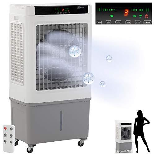 Sichler Haushaltsgeräte Raumluftreiniger: Gewerbe-Luftkühler und Luftbefeuchter, bis 60 m², 250 W, 55 l (Industrie Luftkühler)