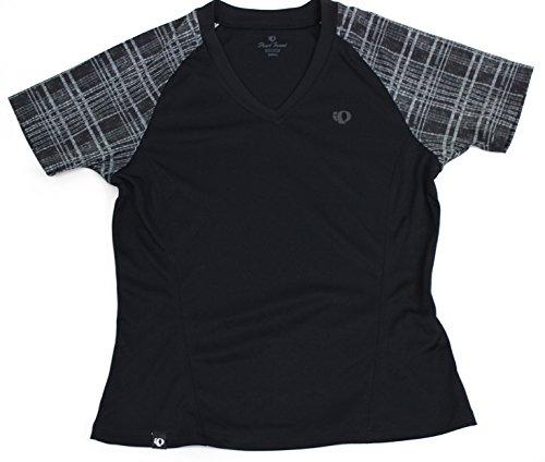 PEARL IZUMI Damen kurzärmliges Shirt Canyon, Black, S, P11221309021