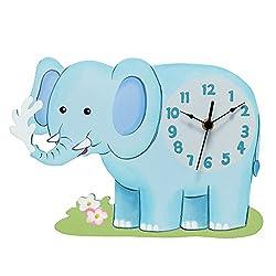 Fantasy Fields - Sunny Safari Elephant Wall Clock