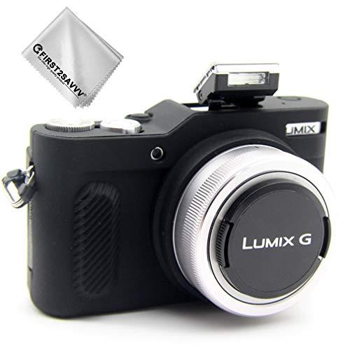 Negro Cuerpo Completo Caucho de TPU Funda Estuche Silicona para cámara para Panasonic Lumix DMC GF10 GF9 GX900 GX950 GF9 GX850 GX800