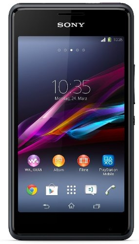 Sony Xperia E1 Smartphone (4 Zoll (10,2 cm) Touch-Display, 4 GB Speicher, Android 4.3) schwarz