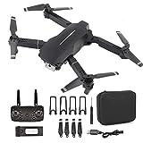 Cuadricóptero de Control Remoto E100 WiFi Drone con fotografía aérea de Alta definición 4K, posicionamiento GPS, retención de altitud, Control de Aplicaciones