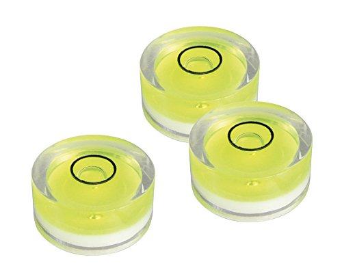 Blanko Wasserwaage Libelle 18 x 9 mm 5er-Set