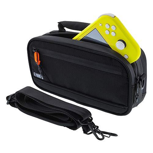 bionik BNK-9042 Commuter Lite Bolsa para Nintendo Switch Lite (Negro)