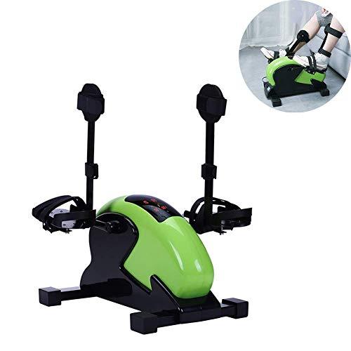 HYYK Ejercitador de Pedal, Bicicleta de Ejercicios Mini Debajo del Escritorio, Gimnasio portátil para Interiores, ejercitador de Brazos y piernas, máquina de Entrenamiento y rehabilitación