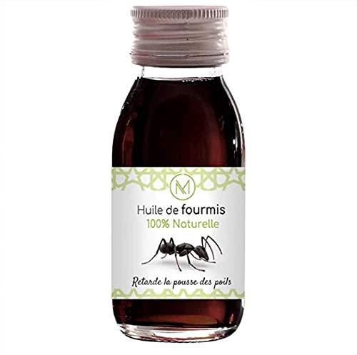 Huile de fourmis 60ml 100% naturelle | Retarde la pousse des poils | Made In France