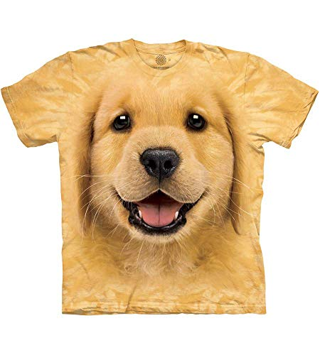 T-Shirt Golden Retriever Puppy gelb | S