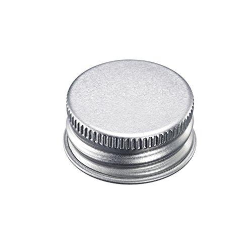 Westmark Schraubdeckel, 10-teilig, Metall, Silber, 40882230