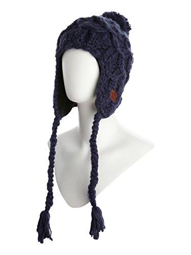 Roxy Mütze Whiteface - Gorro de esquí para Mujer, Color Azul, Talla...