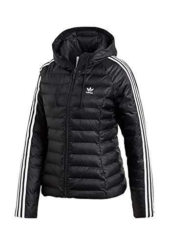adidas Damen Slim Jacke,  Black, 38 (M)