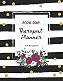 2020-2021 Therapist Planner: Floral Decoration   2 Years Therapist Appointment Book   Time Management Schedule Organizer   Daily Weekly Journal   ... Calendar Logbook (2020-2021 Appointment Book)
