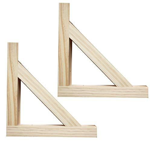 SUPPORT escuadras para estanteria soporte forma de triángulo en ...