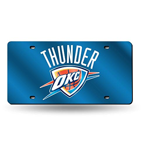 Desconocido NBA Oklahoma City Thunder Laser Cut Auto Etiqueta
