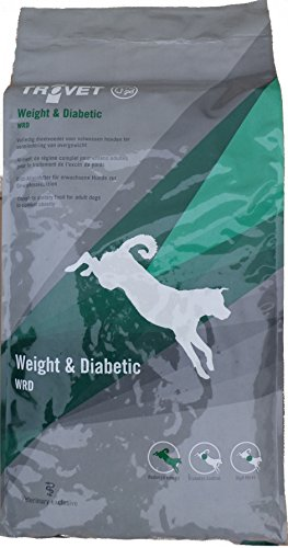 12,5kg Trovet WRD Weigt & Diabetic Diätfutter Hundefutter