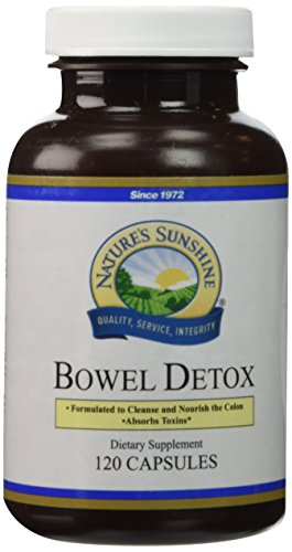 Nature's Sunshine Bowel Detox, 120 Capsules | Colon Cleanse Detox Supplement to Promote Regular Elimination and Cleansing of the Digestive System
