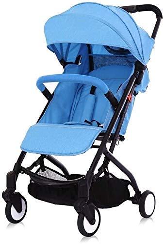 Tricycle Kids TRIKE 2 en 1 cochecito de bebé caminando Lightweight Baby PRAM PARA EL SISTEMA DE VIAJE DE NUEVOS PORTALES PORTABLE Carrito plegable del carruaje del carrito del bebé Triciclo de la sill