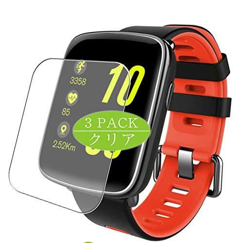 VacFun 3 Piezas Claro Protector de Pantalla, compatible con Smartwatch smart watch GV68, Screen Protector Película Protectora(Not Cristal Templado) NEW Version