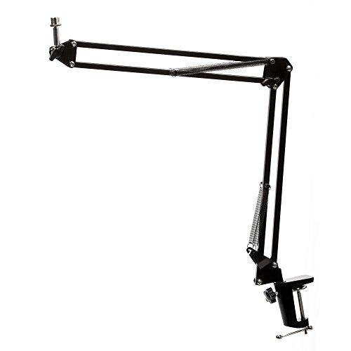 Knox Gear Microphone Desktop Book Arm - Black