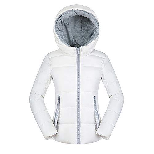WFSDKN Womens Parka Coat Hooded vrouwen jas katoen warme slanke dunne jassen en jassen vrouwen winter streetwear ontwerper rode casual korte dames jas DR650