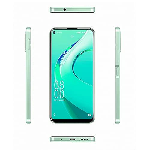 Pretty Store Smartphone Android 4G, Batería De 4000 MAh, Pantalla Completa De 6,39 Pulgadas, 64 GB / 4 GB De RAM, Doble SIM, Android 11 (Color : Green)
