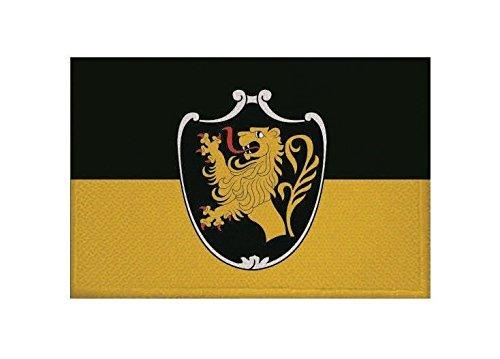 U24 Aufnäher Bad Tölz Fahne Flagge Aufbügler Patch 9 x 6 cm